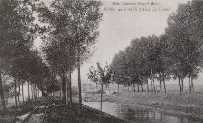 Canal de Pont de Vaux